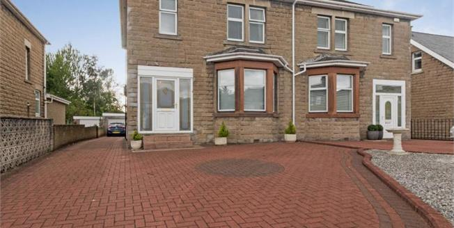 Offers Over £215,000, 4 Bedroom Semi Detached House For Sale in Motherwell, ML1