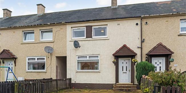 Offers Over £70,000, 2 Bedroom Terraced House For Sale in Motherwell, ML1