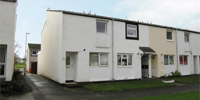 Offers Over £74,000, 2 Bedroom End of Terrace House For Sale in Kilwinning, KA13