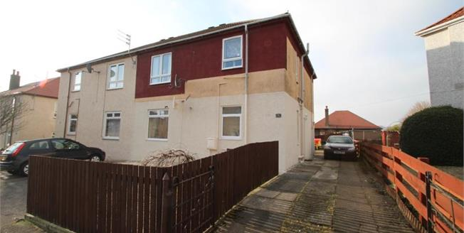 Fixed Price £59,995, 2 Bedroom Upper Floor Flat For Sale in Stevenston, KA20