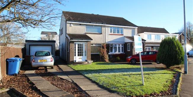 Fixed Price £114,500, 3 Bedroom Semi Detached House For Sale in Dreghorn, KA11