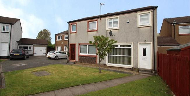 Offers Over £90,000, 3 Bedroom Semi Detached House For Sale in Girdle Toll, KA11