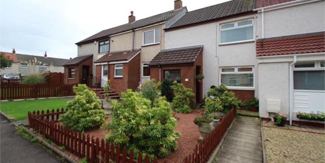 Offers Over £65,000, 2 Bedroom Terraced House For Sale in Dreghorn, KA11