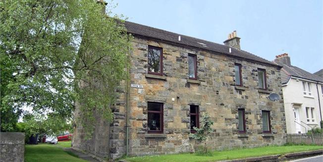 Offers Over £66,000, 1 Bedroom Upper Floor Flat For Sale in Lennoxtown, G66