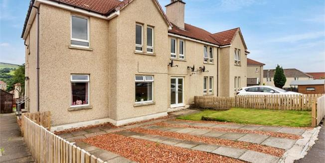 Offers Over £71,995, 3 Bedroom Ground Floor Flat For Sale in Kilsyth, G65