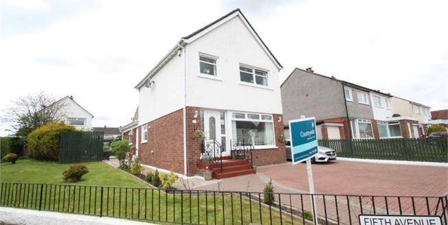 Fixed Price £230,000, 4 Bedroom Detached House For Sale in Stepps, G33