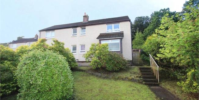 Offers Over £95,000, 3 Bedroom Semi Detached House For Sale in Kilsyth, G65