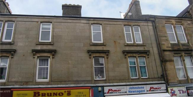 Offers Over £55,000, 2 Bedroom Upper Floor Flat For Sale in Johnstone, PA5