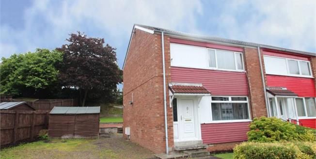 Offers Over £80,000, 2 Bedroom End of Terrace House For Sale in Paisley, PA2