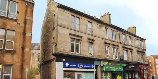 Offers Over £45,500, 1 Bedroom Upper Floor Flat For Sale in Paisley, PA2