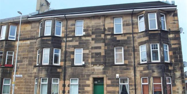 Offers Over £65,000, 2 Bedroom Upper Floor Flat For Sale in Paisley, PA2
