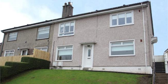 Offers Over £65,000, 2 Bedroom Ground Floor Flat For Sale in Paisley, PA2