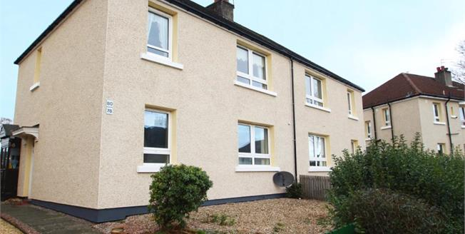 Offers Over £57,000, 1 Bedroom Ground Floor Flat For Sale in Paisley, PA2