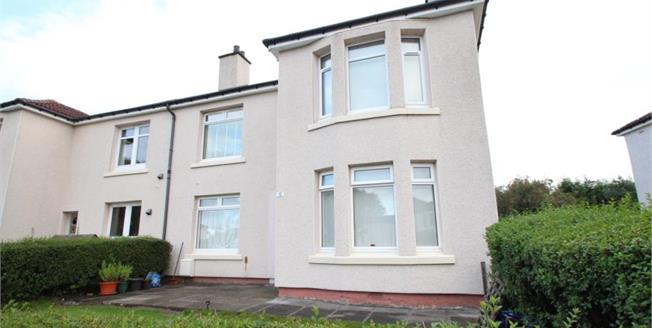 Offers Over £104,500, 3 Bedroom Ground Floor Flat For Sale in Glasgow, G13