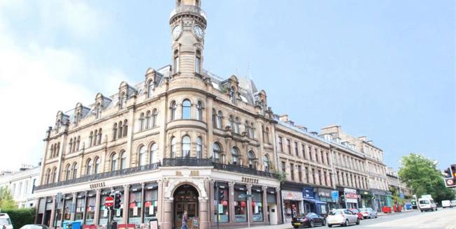 Offers Over £155,000, 2 Bedroom Upper Floor Flat For Sale in Glasgow, G12