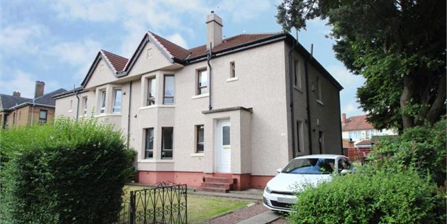 Offers Over £120,000, 3 Bedroom Upper Floor Flat For Sale in Glasgow, G14