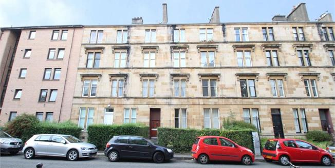 Offers Over £150,000, 2 Bedroom Upper Floor Flat For Sale in Glasgow, G12