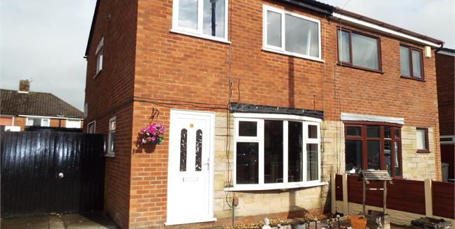 Offers Over £125,000, 3 Bedroom Semi Detached House For Sale in Walton-le-Dale, PR5