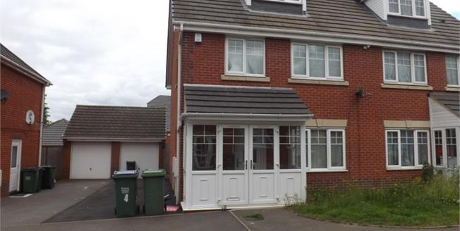 Asking Price £229,950, 6 Bedroom Semi Detached House For Sale in Smethwick, B66