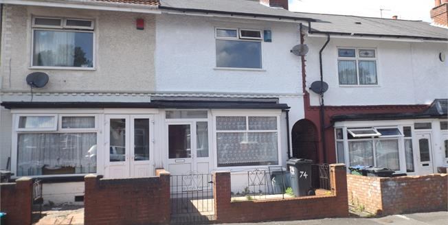 Asking Price £115,000, 2 Bedroom Terraced House For Sale in Smethwick, B67