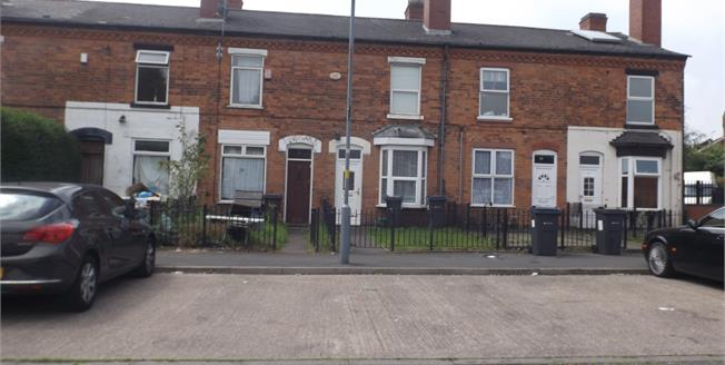 Asking Price £90,000, 2 Bedroom Terraced House For Sale in Birmingham, B16