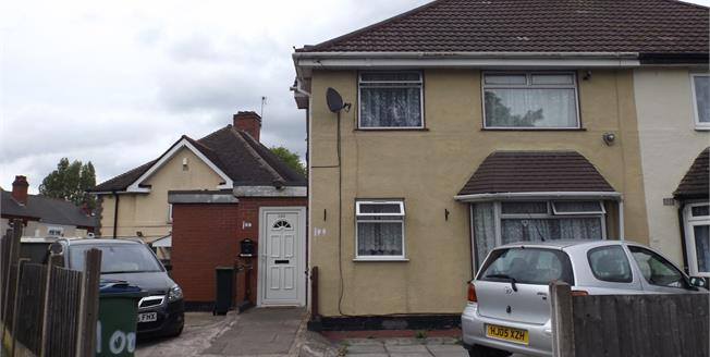 Asking Price £155,000, 3 Bedroom Semi Detached House For Sale in Smethwick, B67