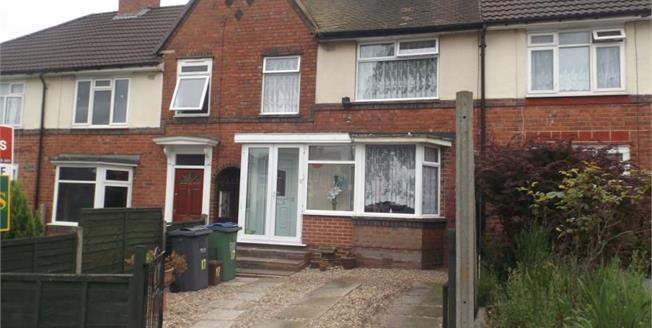 £130,000, 3 Bedroom Terraced House For Sale in Smethwick, B67
