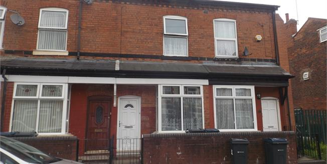 Asking Price £105,000, 3 Bedroom Terraced House For Sale in Birmingham, B21