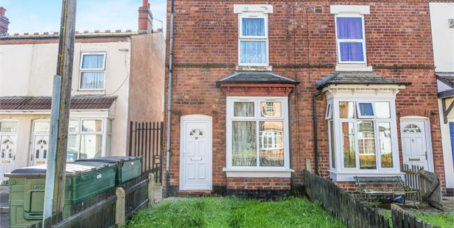 Offers Over £90,000, 2 Bedroom End of Terrace For Sale in Winson Green, B18