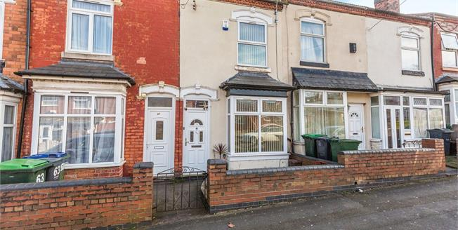 Offers Over £135,000, 2 Bedroom Terraced House For Sale in Smethwick, B66