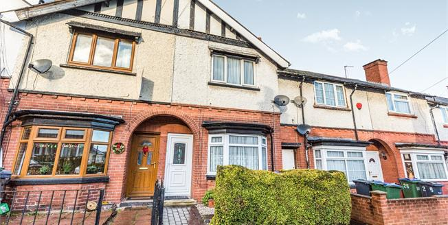 Offers in excess of £125,000, 2 Bedroom Terraced House For Sale in Smethwick, B67