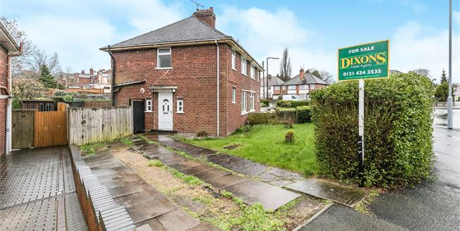 Offers Over £150,000, 3 Bedroom Semi Detached House For Sale in Smethwick, B67