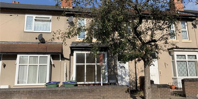 Guide Price £130,000, 2 Bedroom Terraced House For Sale in Smethwick, B66