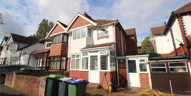 Asking Price £190,000, 3 Bedroom Semi Detached House For Sale in Smethwick, B67