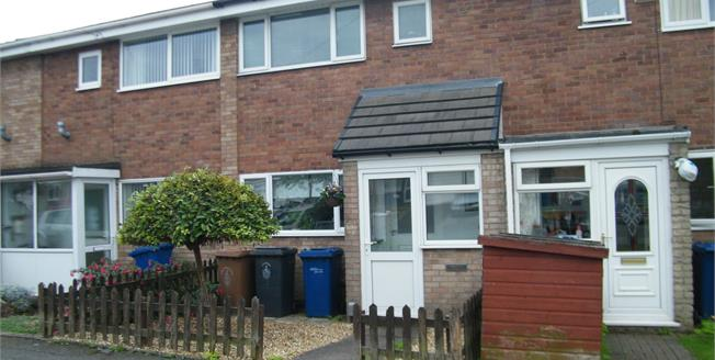 Asking Price £130,000, 3 Bedroom Terraced House For Sale in Burntwood, WS7