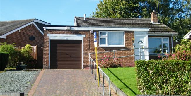 Offers Over £185,000, 3 Bedroom Detached Bungalow For Sale in Burntwood, WS7