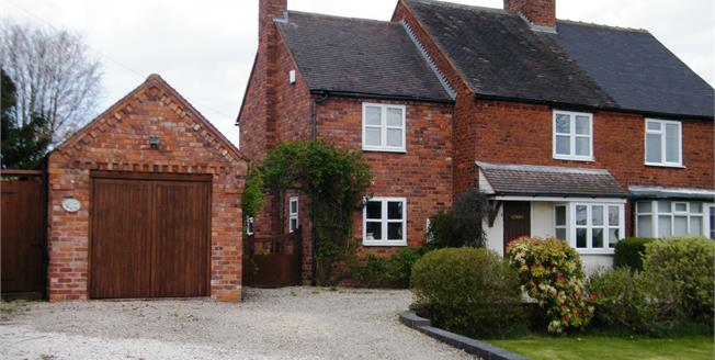 Offers in the region of £415,000, 3 Bedroom Semi Detached Cottage For Sale in Lichfield, WS13