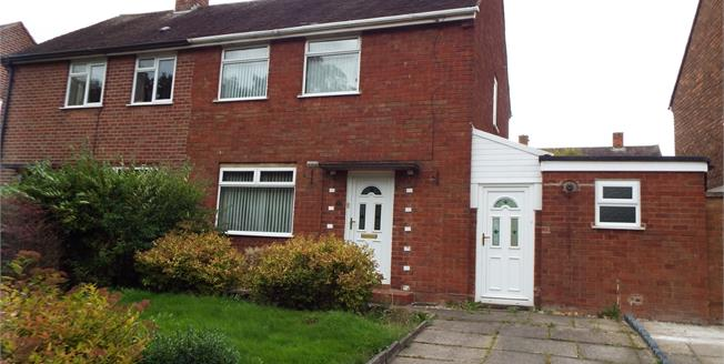 Offers in excess of £120,000, 2 Bedroom Semi Detached House For Sale in Cannock, WS11