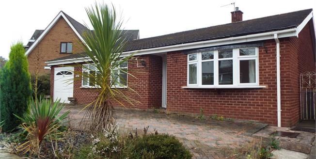 Asking Price £200,000, 2 Bedroom Detached Bungalow For Sale in Cannock, WS11