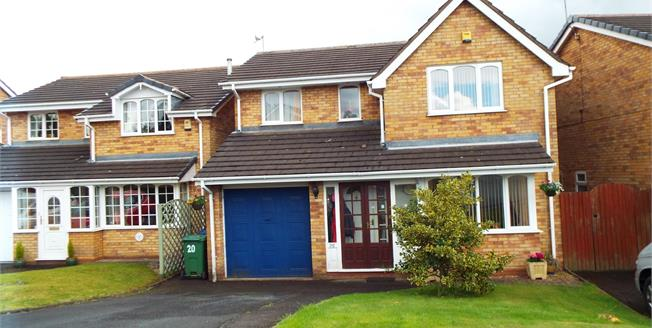 Asking Price £230,000, 4 Bedroom Detached House For Sale in Cannock, WS12
