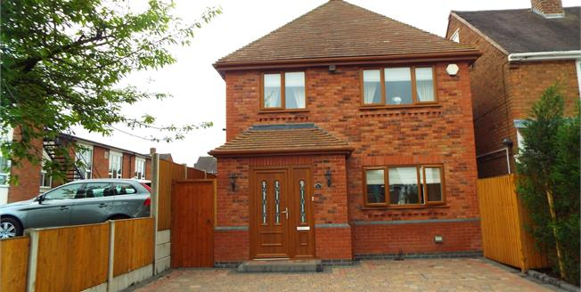 Offers in excess of £280,000, 5 Bedroom Detached House For Sale in Cannock, WS11