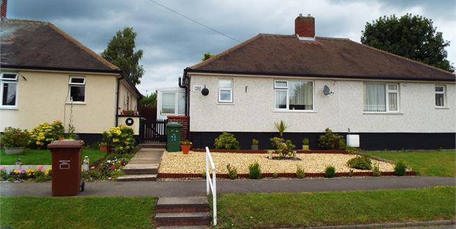 Offers Over £105,000, 1 Bedroom Semi Detached Bungalow For Sale in Hednesford, WS12