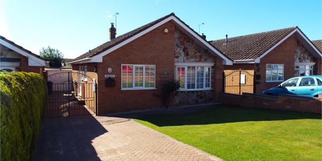 Asking Price £220,000, 3 Bedroom Detached Bungalow For Sale in Cannock, WS12
