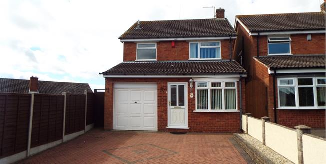 Asking Price £190,000, 3 Bedroom Detached House For Sale in Norton Canes, WS11