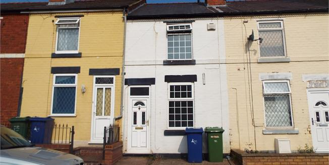 Asking Price £110,000, 2 Bedroom Terraced House For Sale in Hednesford, WS12