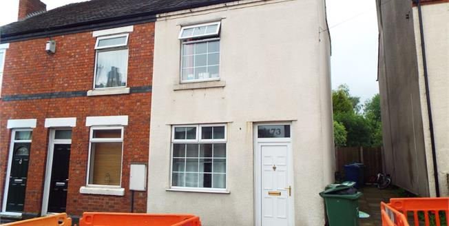 Offers in excess of £115,000, 2 Bedroom End of Terrace House For Sale in Hednesford, WS12