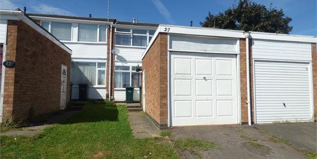 Offers in excess of £115,000, 2 Bedroom Terraced House For Sale in Binley, CV3