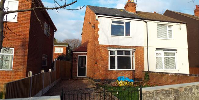 Offers Over £130,000, 2 Bedroom Semi Detached House For Sale in Coventry, CV6