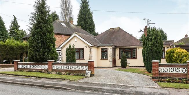 Asking Price £270,000, 3 Bedroom Detached Bungalow For Sale in Bulkington, CV12