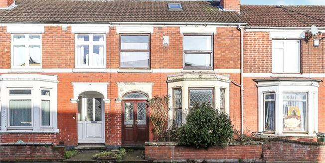 Offers Over £190,000, 3 Bedroom Terraced House For Sale in Coventry, CV5